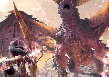 Опубликовано 9 минут геймплея игры Monster Hunter: World