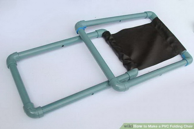 Складной стульчик из ПВХ для пикника своими руками для дома и дачи,стул