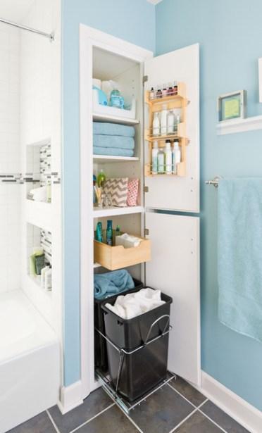 Организуем правильно пространство в маленькой ванной