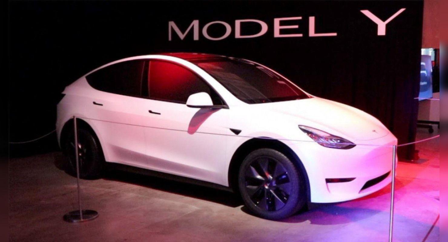 Стартовали продажи электрокроссовера версии Tesla Model Y Автомобили