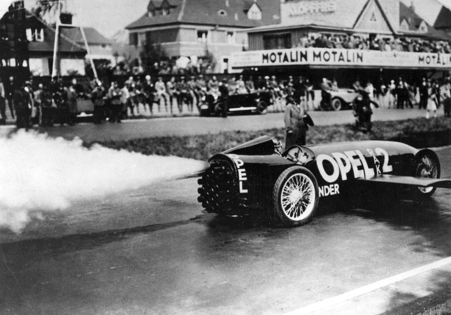 Opel отмечает 90-летний реко…