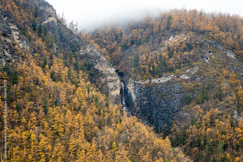 Тайна Аллинских водопадов