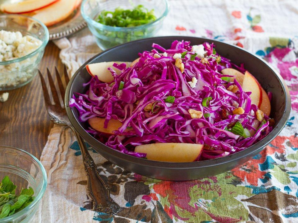 мечтала салат из красной капусты рецепт с фото красивый свадебный