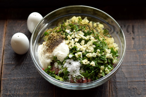 Вкуснятина из баклажанов и фарша, и выглядит роскошно  мясные блюда,овощные блюда