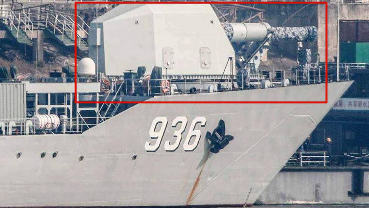 Китай спешит вооружить флот рельсотроном