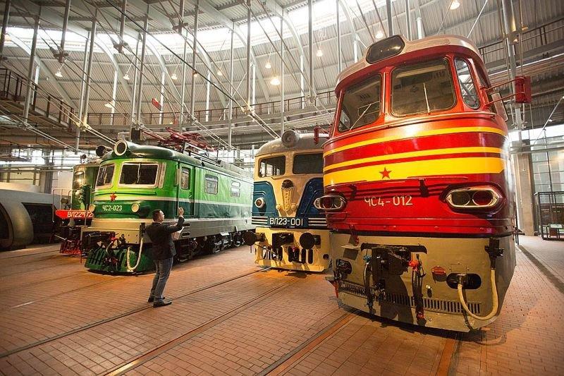 В Петербурге открылся крупнейший в Европе музей железных дорог