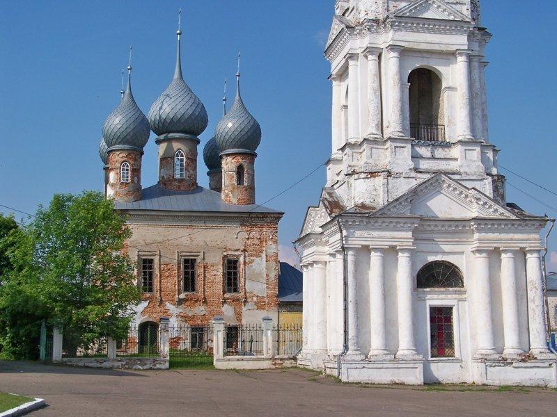 Однако историческое наследие не в очень хорошем состоянии Города России, ивановская область, красивые города, пейзажи, путешествия, россия