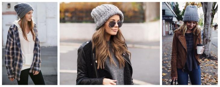 Вязаные шапки: кому подходят и с чем носить? лучшее