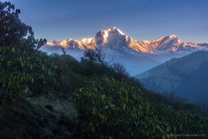 Горы Непала. И не только