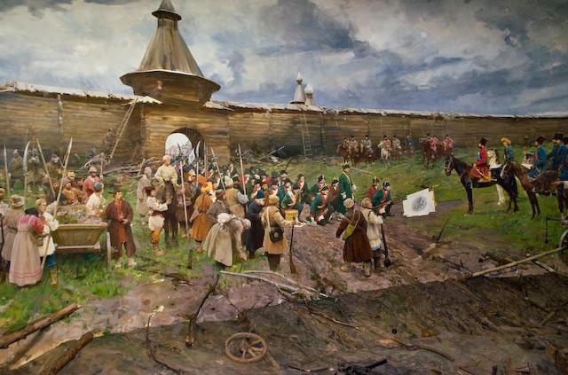 Как Пугачев палил по Оренбургу медными пятаками