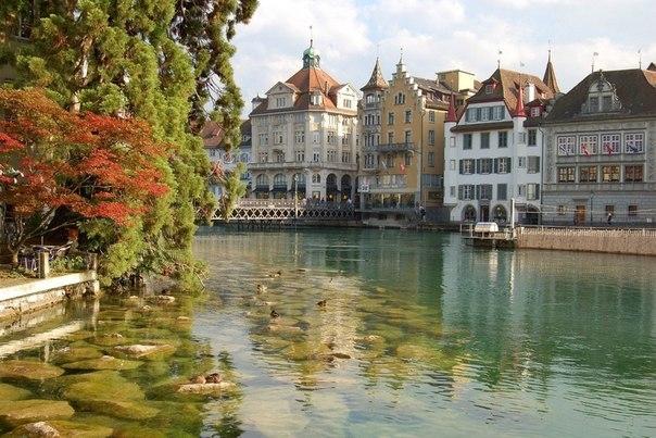Люцерн — один из самых красивых городов Швейцарии