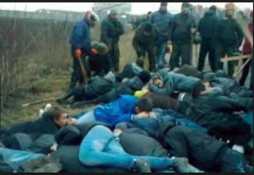 Участники Корсуньского погро…