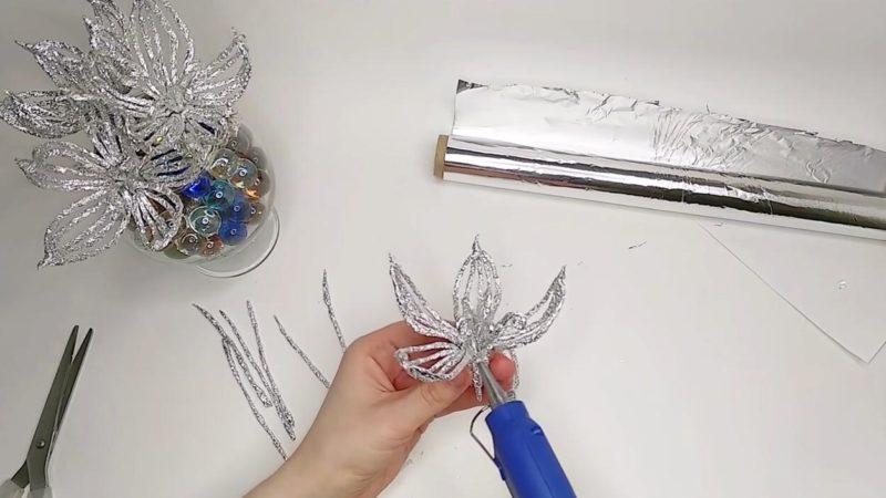 Красивая идея из фольги: декор, который вызывает восторг интерьер,переделки,рукоделие,своими руками,сделай сам