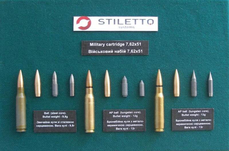Компания Stiletto демонстрирует эффективность своих бронебойных патронов