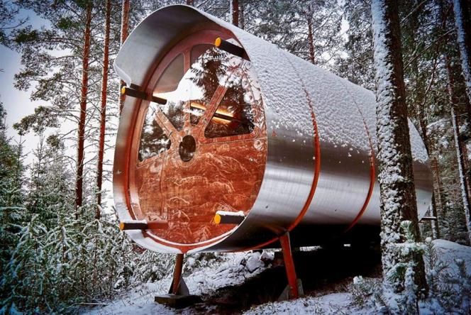 Tree Tents: кабина Ð´Ð»Ñ Ð°Ð²Ñ'ономной жизни
