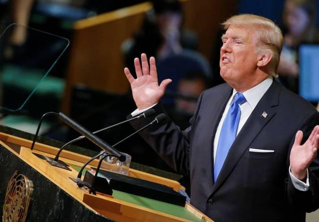 Речь Трампа рассмешила Генас…
