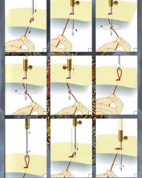 Тамбурная вышивка крючком: виды, подробное описание техники выполнения, пошаговый мастер класс