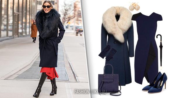 Как пережить морозы на стиле: 9 зимних образов с теплым пальто