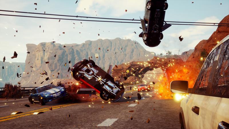 Мультиплеер появится в Dangerous Driving в конце мая action,dangerous driving,Гонки,Игры