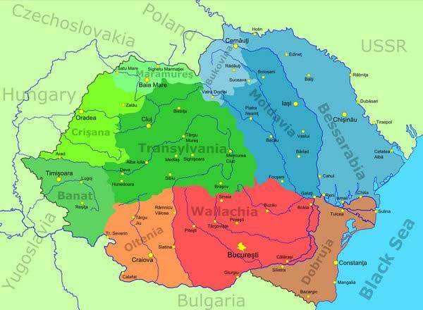 «Великую Румынию» хотят построить за счёт Украины