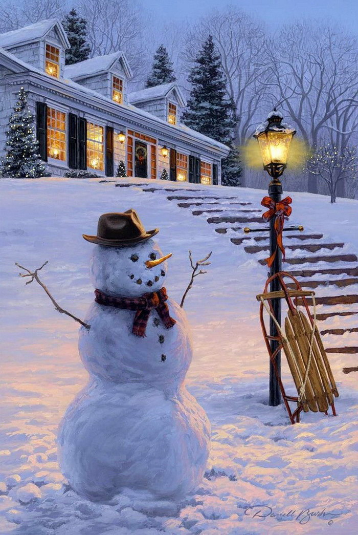 Прикольные картинки на зимнюю