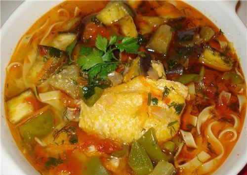 ТОР - 5 Вкусных и горячих первых блюд