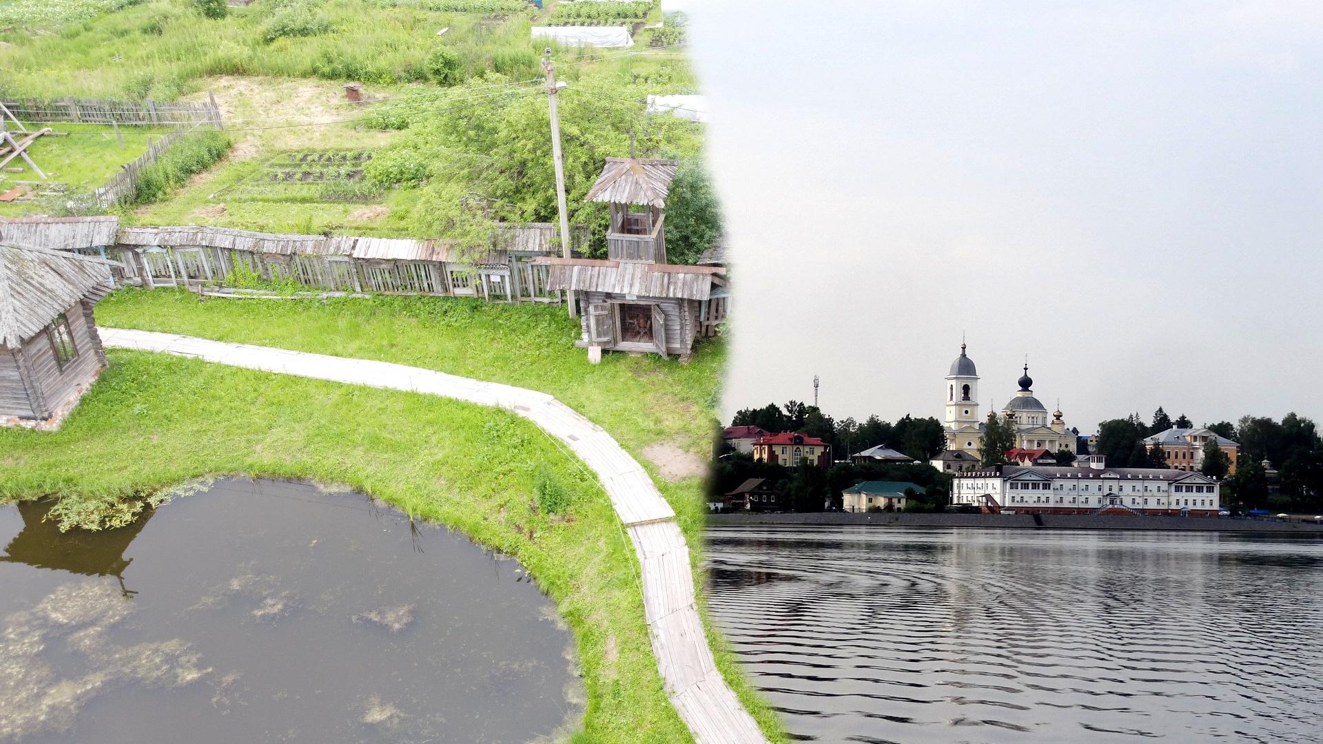 Большое путешествие по России 2020. Часть 5: Город Мышкин и переправа через Волгу