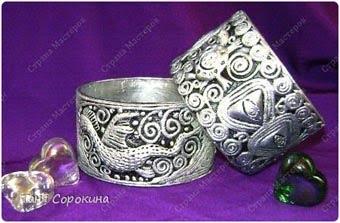 МАСТЕРИЛКА. Серебряный браслет с драконом