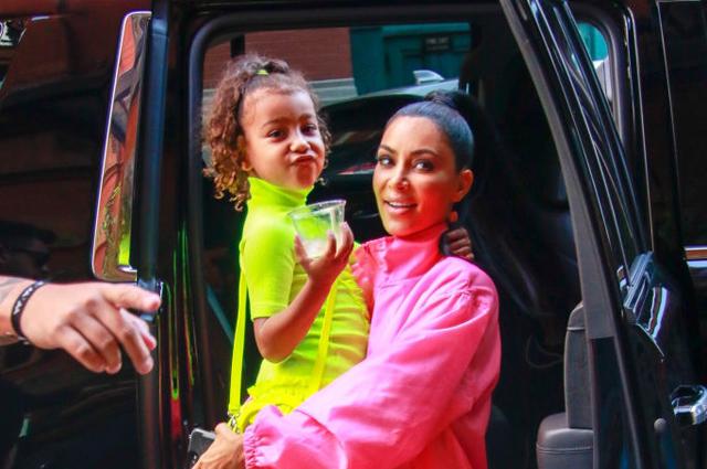 5-летняя дочь Ким Кардашьян и Канье Уэст снимется в Youtube-шоу Звездные дети