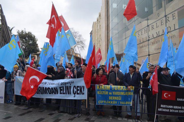Антикрымский шабаш в Стамбуле: Оставьте полуостров в покое, демоны!
