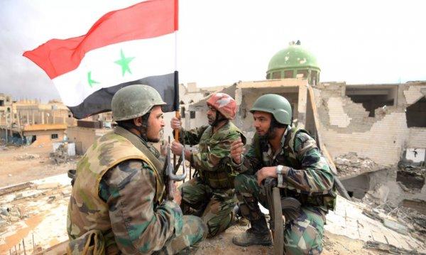 «Дамасская сталь»: в Сирии н…
