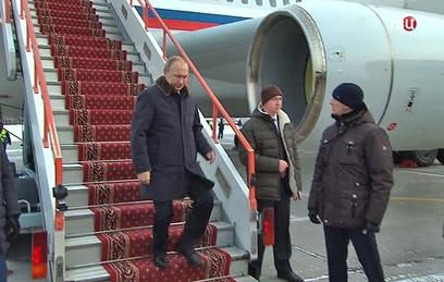 Путин обсудит в Новосибирске науку и образование