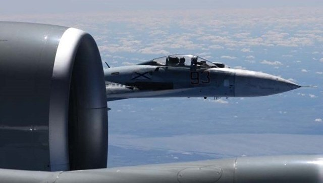 Минобороны ответило на недовольство США действиями российского истребителя