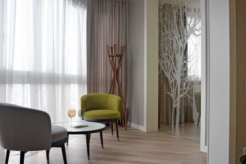 Необычный интерьер: квартира, похожая на волшебный сад