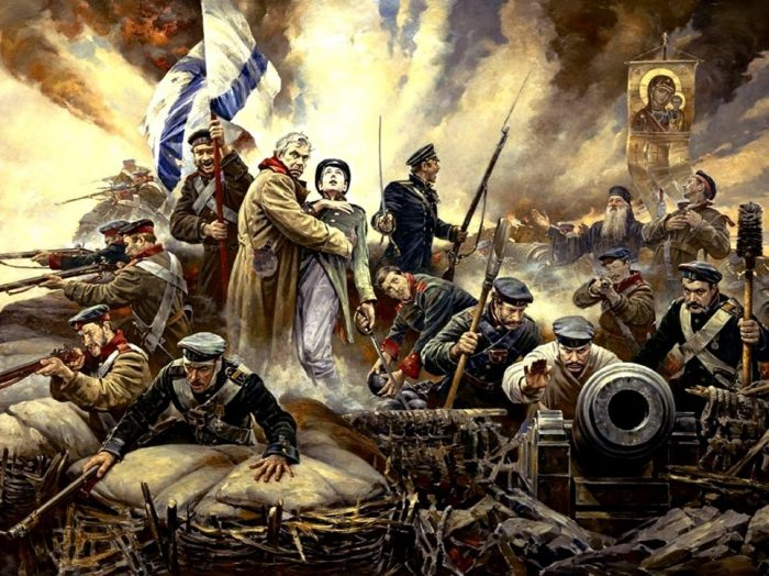 А кто с мечом к нам придёт… Батальная живопись