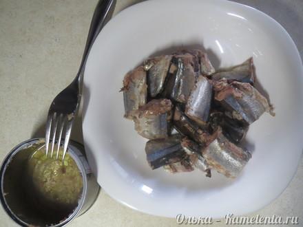 Приготовление рецепта Суфле из консервированной рыбы шаг 6