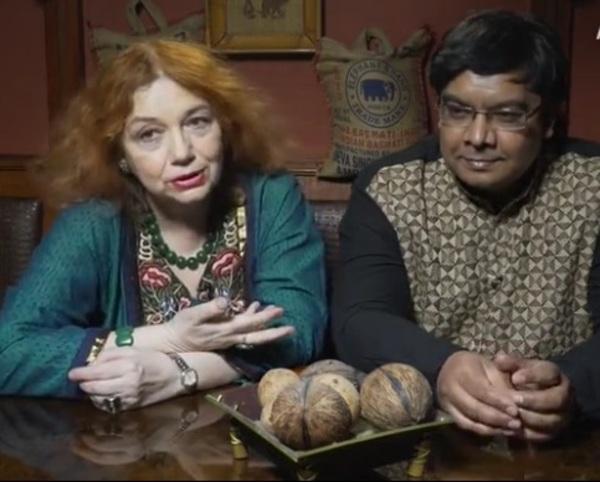 Феминистка Мария Арбатова показала своего третьего мужа - принца из Индии