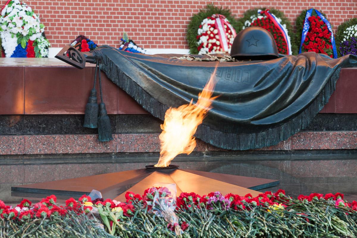 Чаем, открытка памятник неизвестному солдату