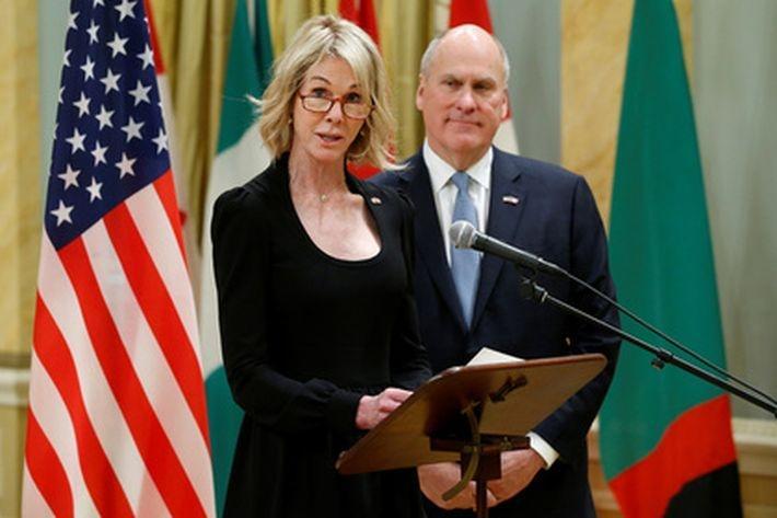 Посол США получила письмо с …
