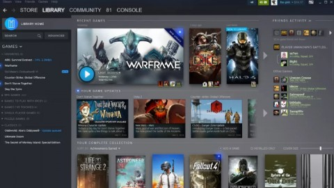 Новый дизайн Steam разделил геймеров на два лагеря Steam