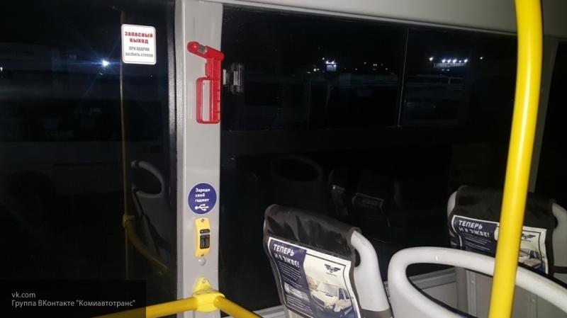 В Коми автобусы оснастили зарядками для телефона