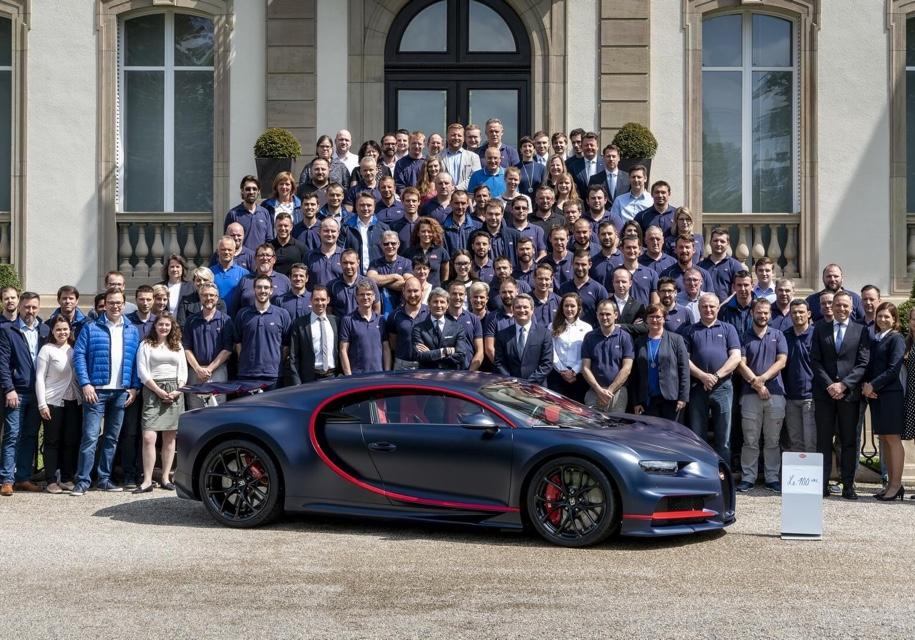 Марка Bugatti выпустила юбил…
