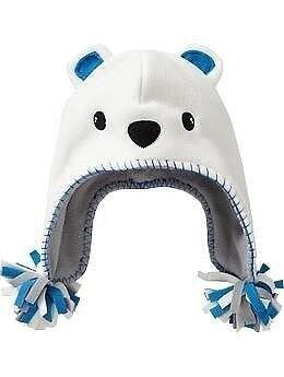 Очаровательные детские шапочки из флиса вдохновляемся,шитье