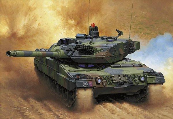 Немецкий «Леопард-2» будет жечь «Арматы», также как «Тигры» жгли Т-34