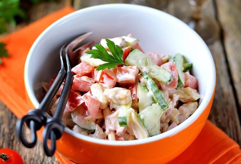 Безумно вкусный салат
