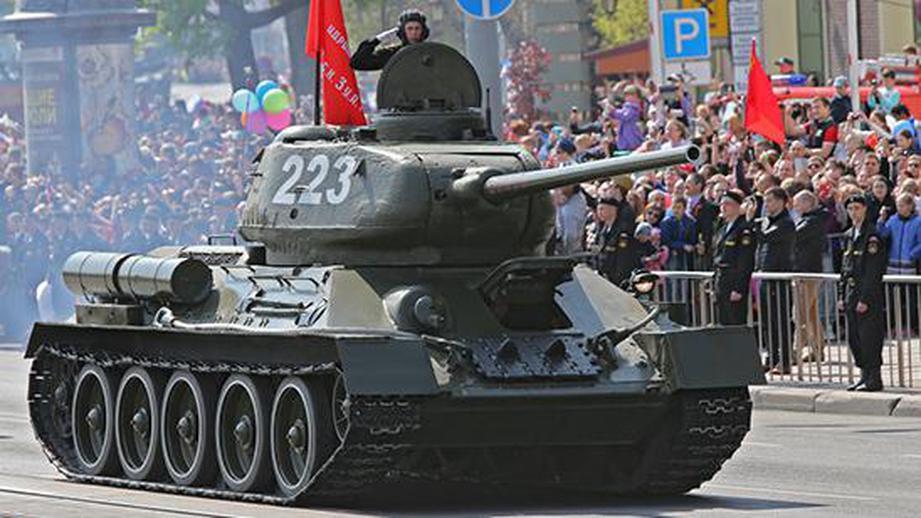 Лаос отдал России полностью исправные танки Т‐34 танки