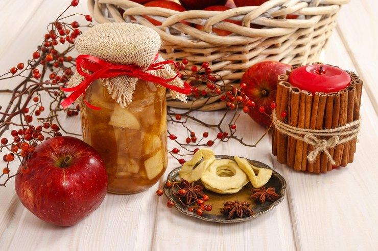 Варенье из яблок и красной рябины