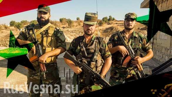 Операция «Возмездие»: Тигры при поддержке ВКС громят боевиков в Идлибе новости,события