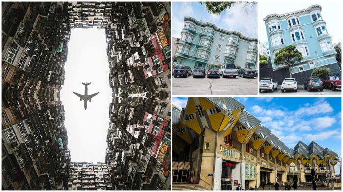 Обычные элементы ландшафта разных городов мира, которые выглядят как кадры из фантастического фильма