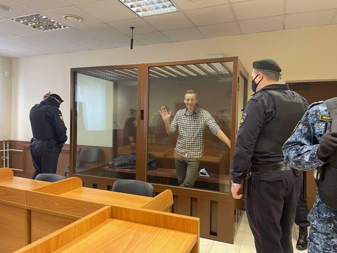 Алексей Навальный выйдет на свободу не раньше, чем на свободу выйдет Россия.